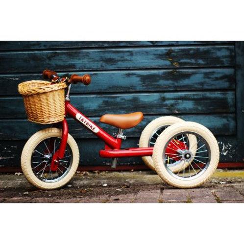 Trybike 2 en 1 vintage rouge
