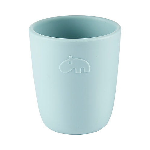 Mini mug en silicone blue