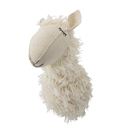 Trophée Lama en laine