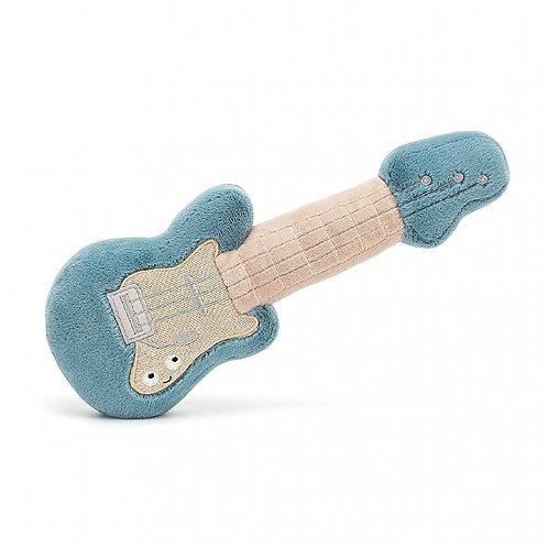 Guitare musicale en peluche