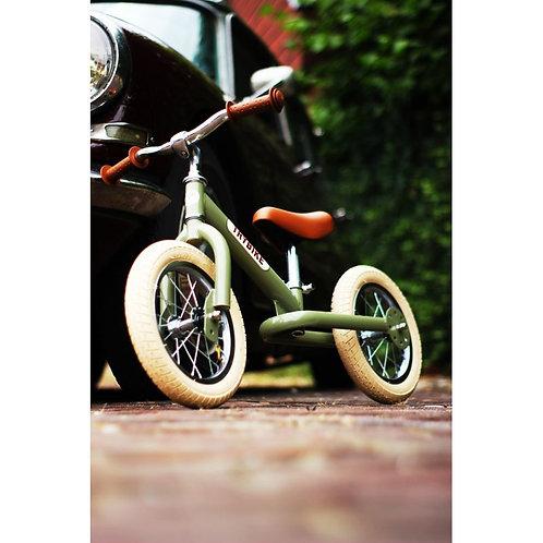 Trybike 2 en 1 vintage vert
