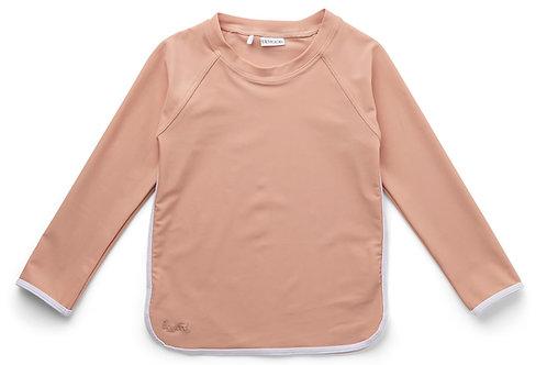 T-shirt anti UV Coral blush