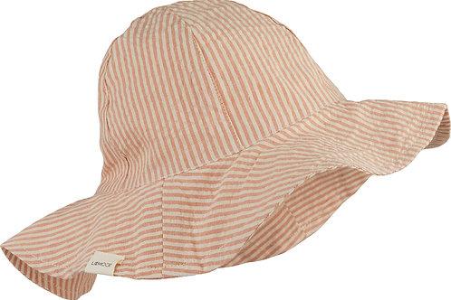 Chapeau Amelia stripe Tuscany rose/sandy