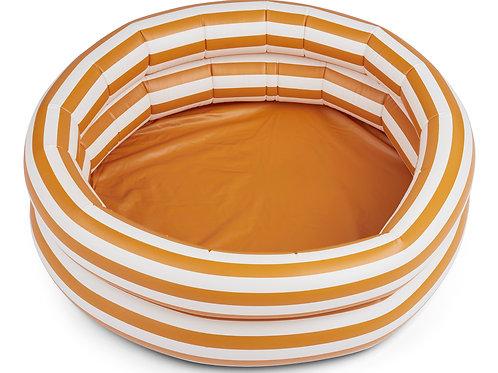 Piscine Leonore Stripe mustard/crème