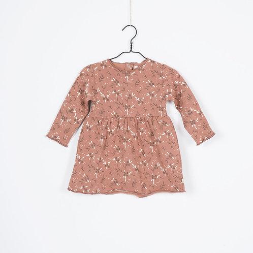 Robe Robyn cannelle Fleurs