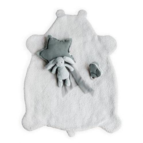 Babyplaid teddy mouton