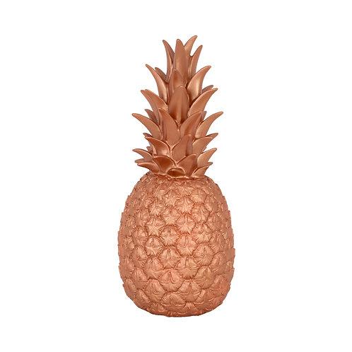 Lampe ananas bronze