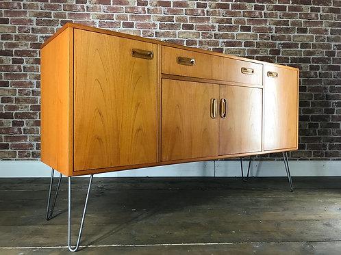 Stunning LARGE G Plan Teak Sideboard on Hairpin Legs Retro Vintage TV Stand Unit