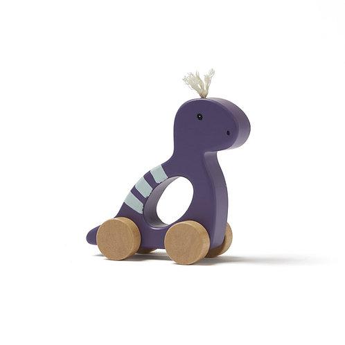 Dino à pousser violet
