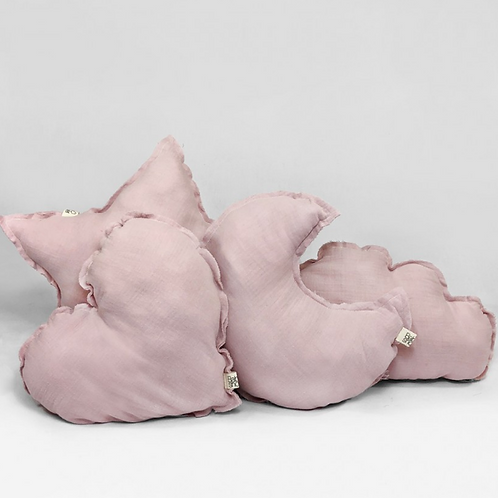 Coussin powder pink