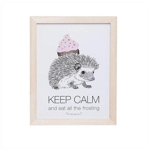"""Cadre """"keep calm..."""""""
