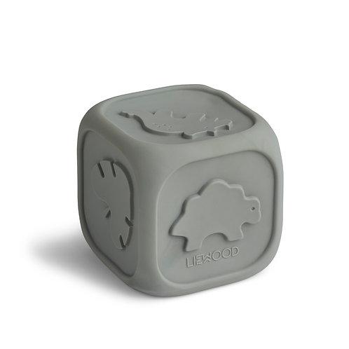 Cube d'éveil Dove blue