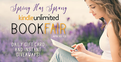 SPRING KINDLE UNLIMITED BOOK FAIR NEW GIVEAWAYS DAILY (April