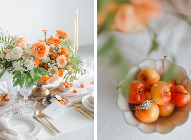 Summer vibes styled shoot for Carol and Vincent