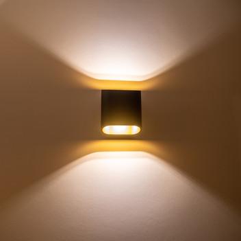 Het juiste licht zorgt voor een warme sfeer.