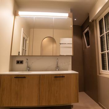 Kies voor een rustgevende badkamer.