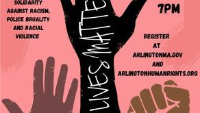Black Lives Mater Virtual Vigil