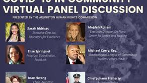 COVID-19 In The Community - Virtual Panel Discussion Recap