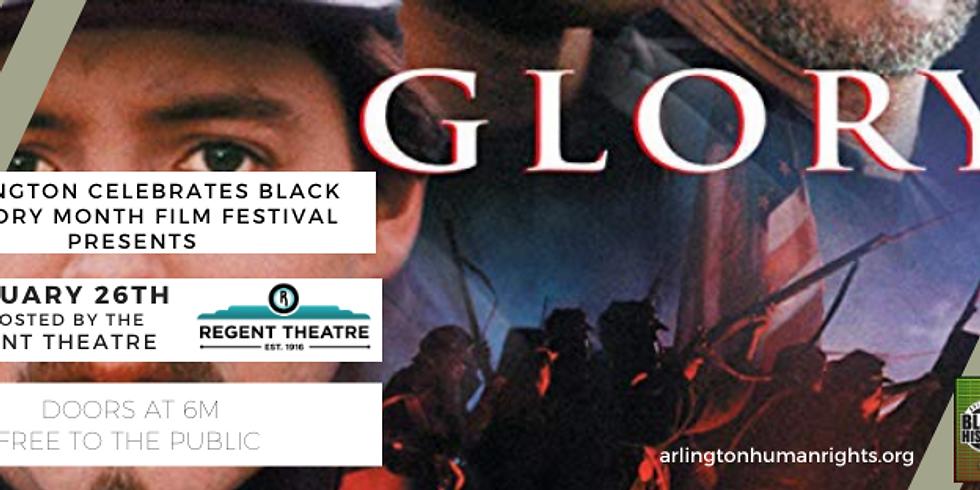 Arlington BHM Film Festival showing of Glory (R)