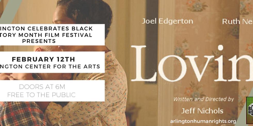 Arlington BHM Film Festival showing of Loving (PG-13)