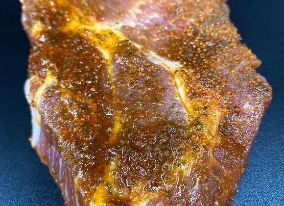 Escalope de porc marinée [12.50€/KG]