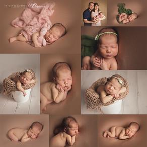 """Фотосессия новорождённых. Пакет """"Мини""""."""