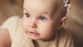 Пример детской фотосессии.