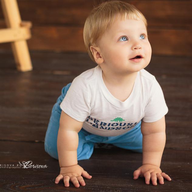 фотосессия для малышей до годика в Магнитогорске.