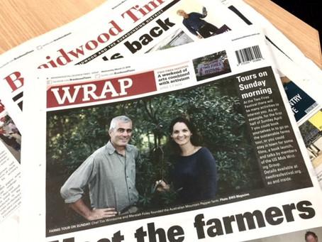 In the local press