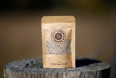 Australian Mountain Pepper Garlic Salt