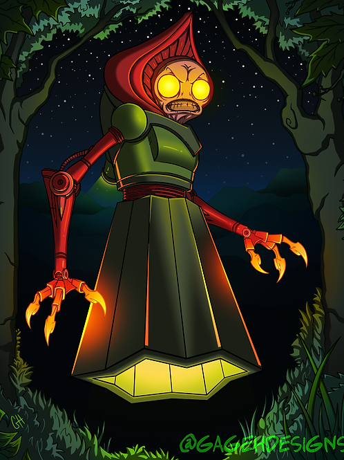 The Flatwoods Monster (Print)