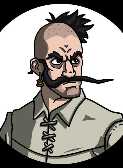 Miner Mustachio