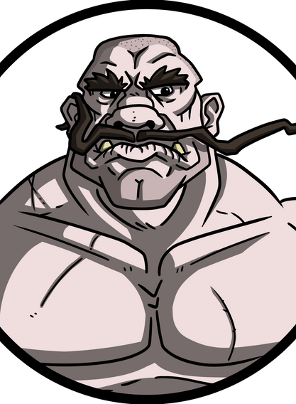 Ogryn Mustachio