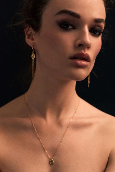 Les Merveilleuses - Collection Prune en plaqué or, rubis et saphirs