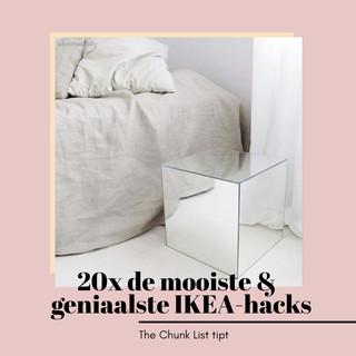 20x de mooiste & geniaalste IKEA-hacks