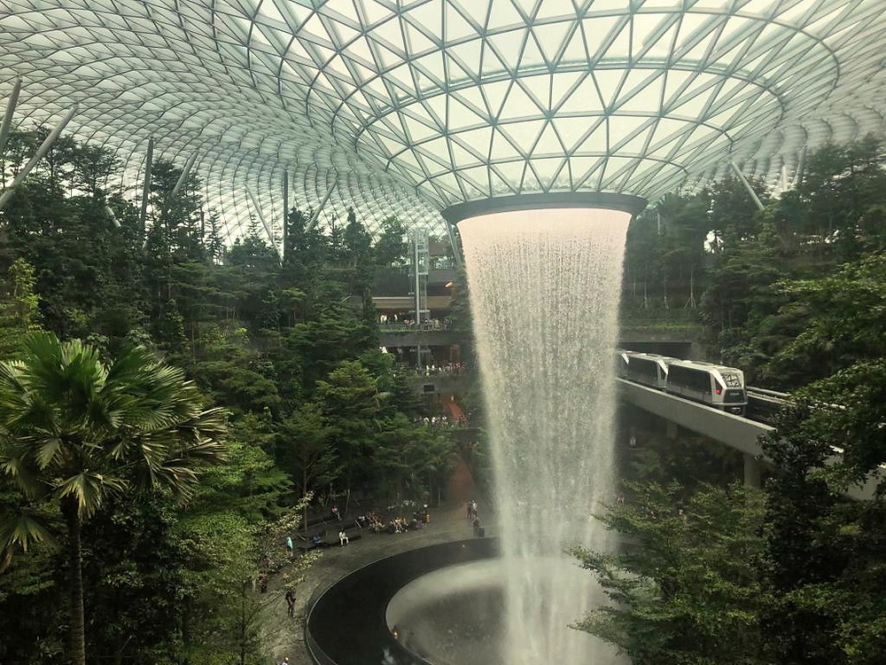 SIngapore Jewel Changi Airport - The Chunk List