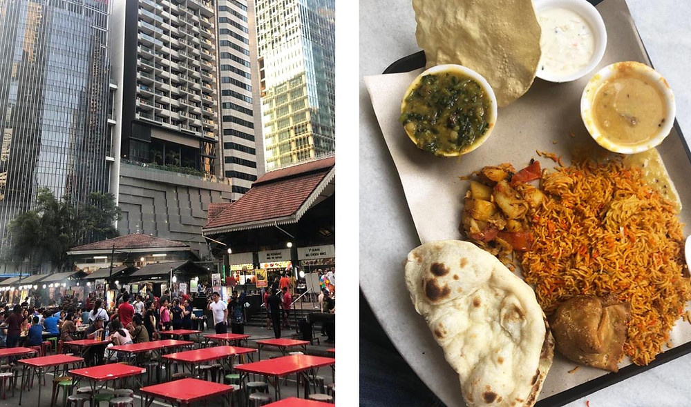 Singapore Hawker Centre - The Chunk List