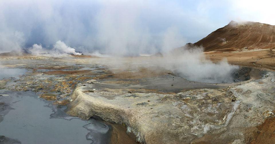 IJsland Hverir - The Chunk List