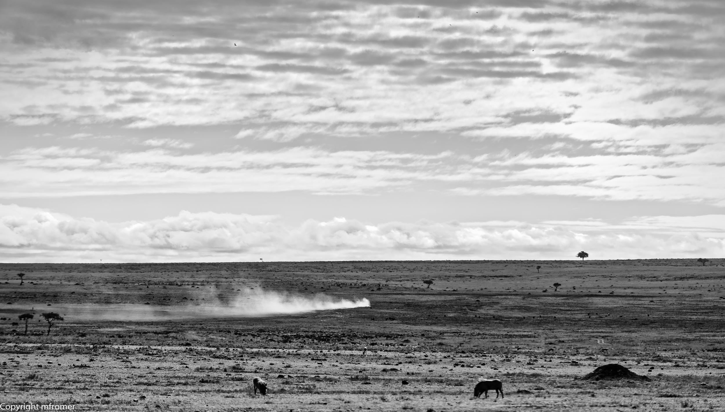 Kenya, barren land
