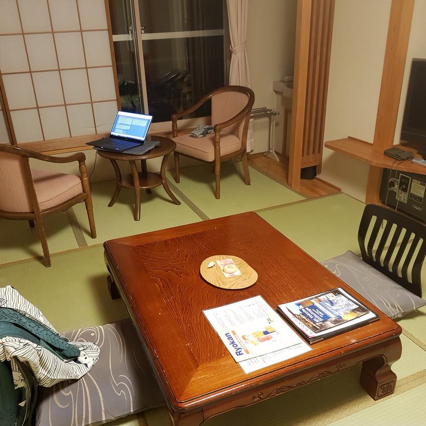 a classical ryokan room