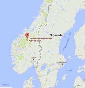 Dovrefjell National Parc, Norway