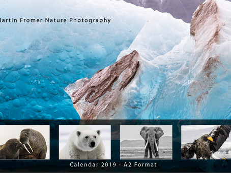 X-mas Gift: New Martin Fromer Nature Photography Calendar 2019 Available