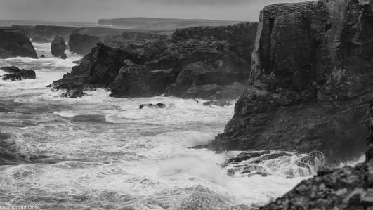 coast line Shetland, Ulft, 2013