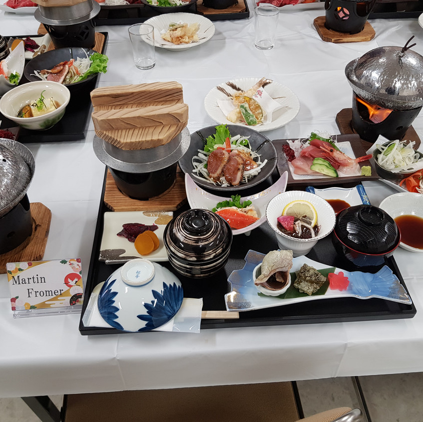 first class japanese meal
