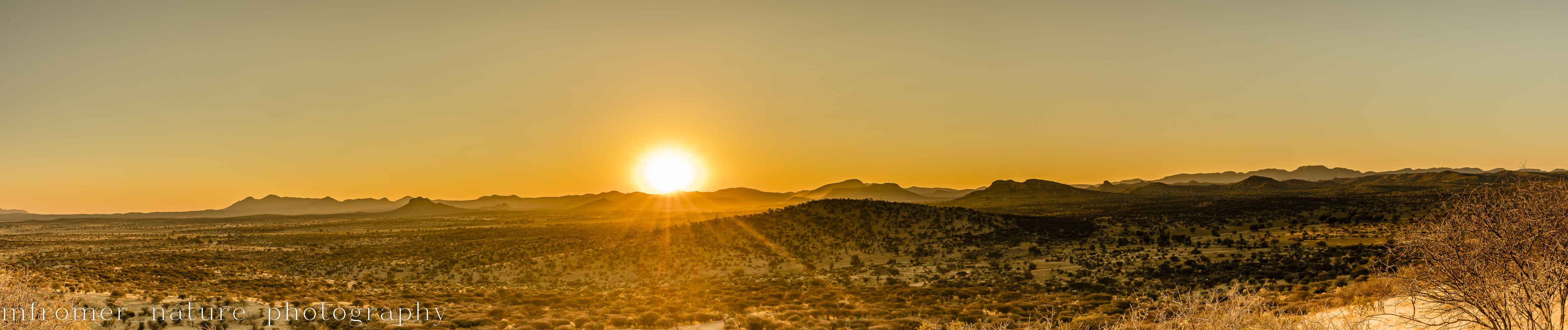 About an hour from Windhoek, Namibia
