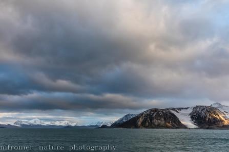 Fjord in Svalbard 2018