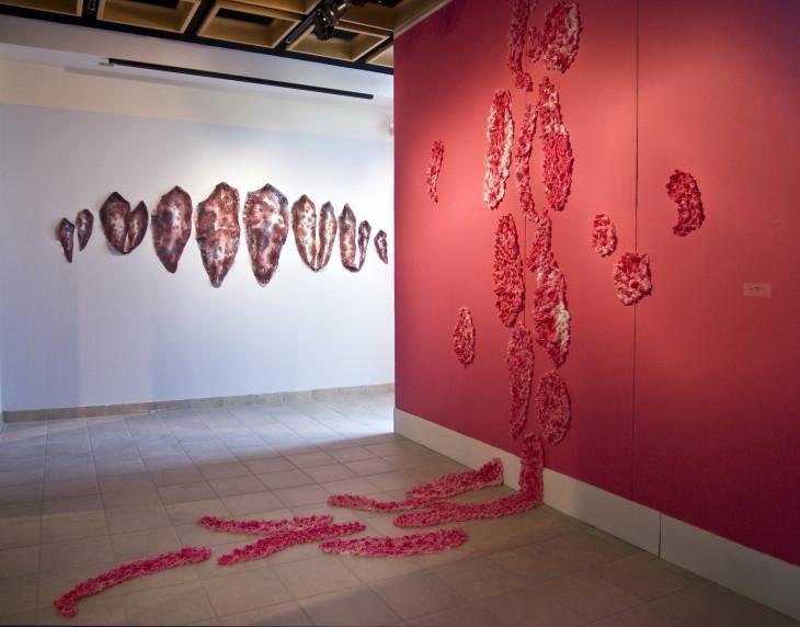 Piece of art by course professor Anna Divinsky