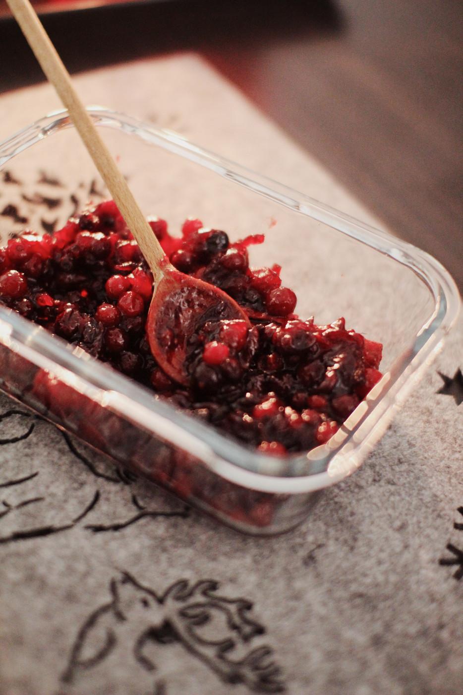 Šviežių spanguolių džemas šventiniam stalui | Receptas
