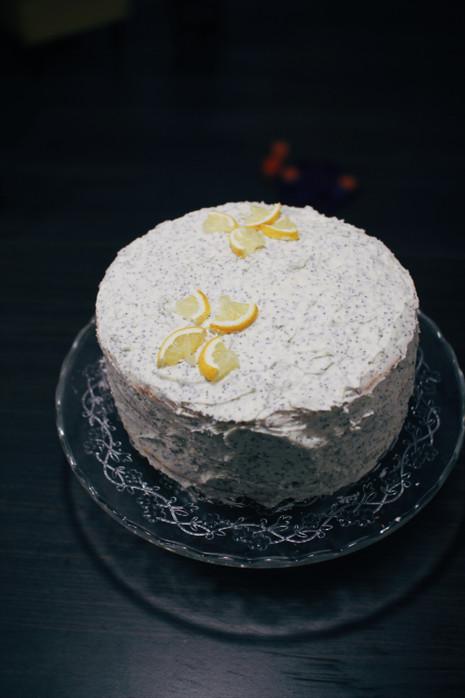 Citrininis aguonų tortas! 🍋