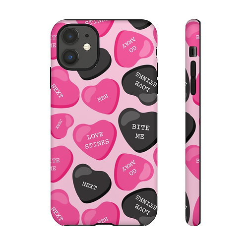 Anti-Valentines Sweetish Hearts Designer Tough Case